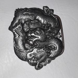 Dragon Belt Buckle Bergamot Brass Works